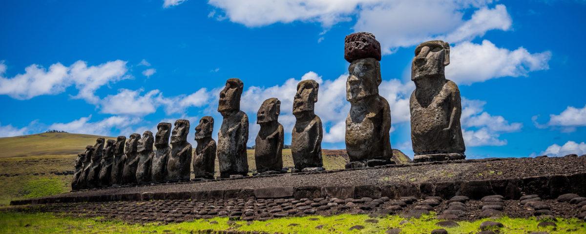 Moai Osterinsel Ahnen