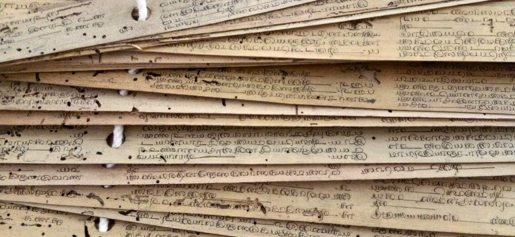 Palmblatt-Lesung Nadi Reading